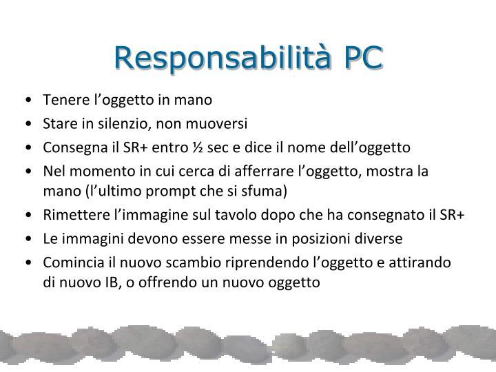 Responsabilità PC