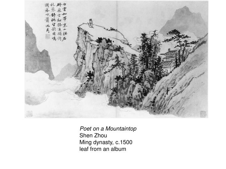 Poet on a Mountaintop