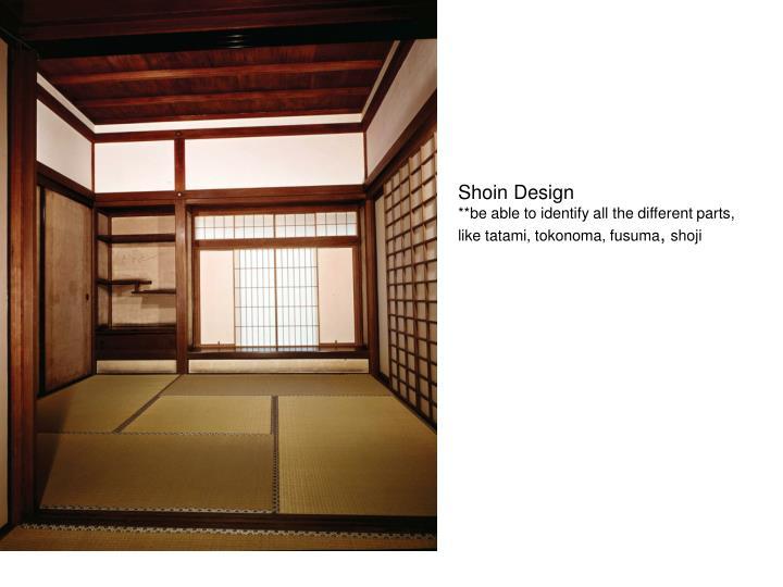 Shoin Design