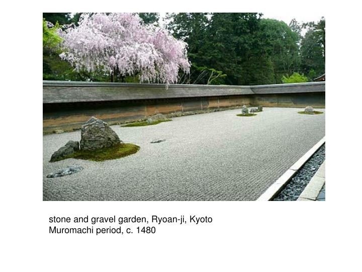stone and gravel garden, Ryoan-ji, Kyoto