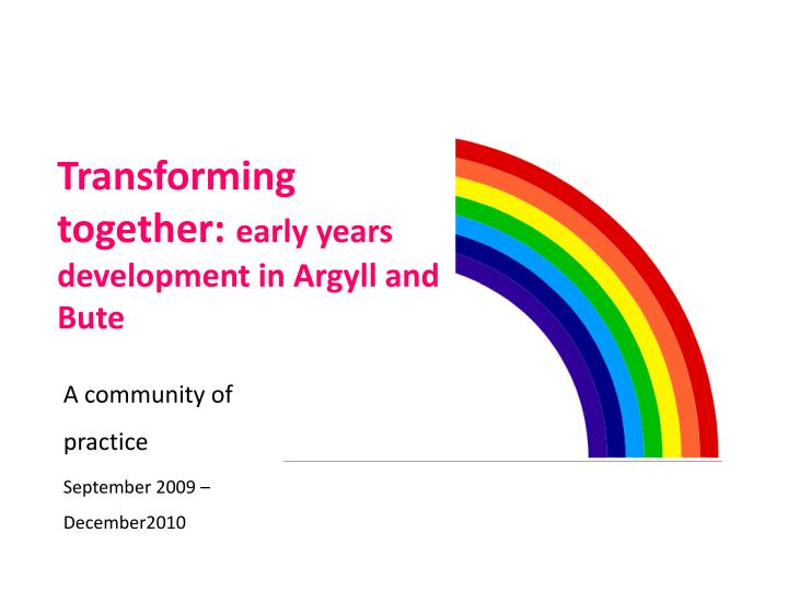 Transforming together: