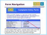 form navigation1