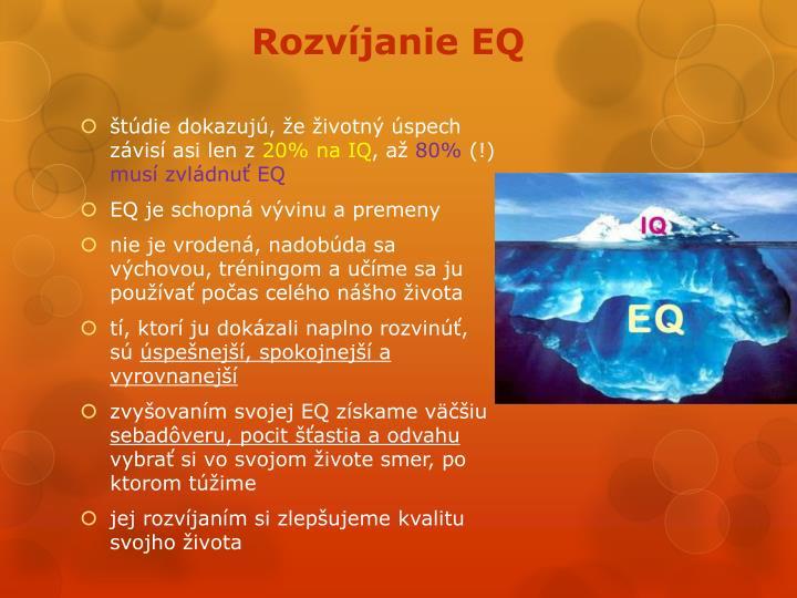 Rozvíjanie EQ
