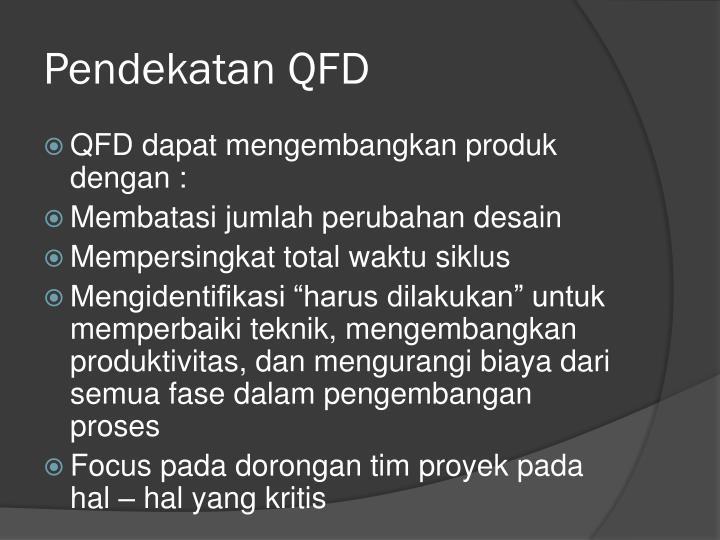Pendekatan QFD