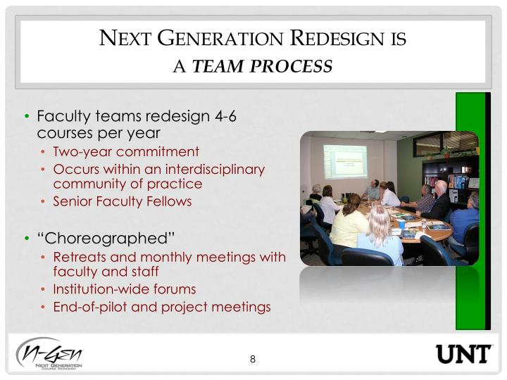Next Generation Redesign is
