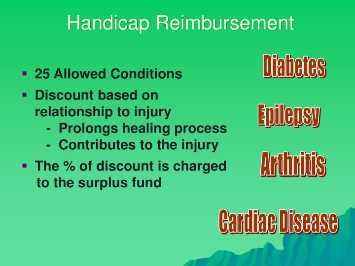 Handicap Reimbursement