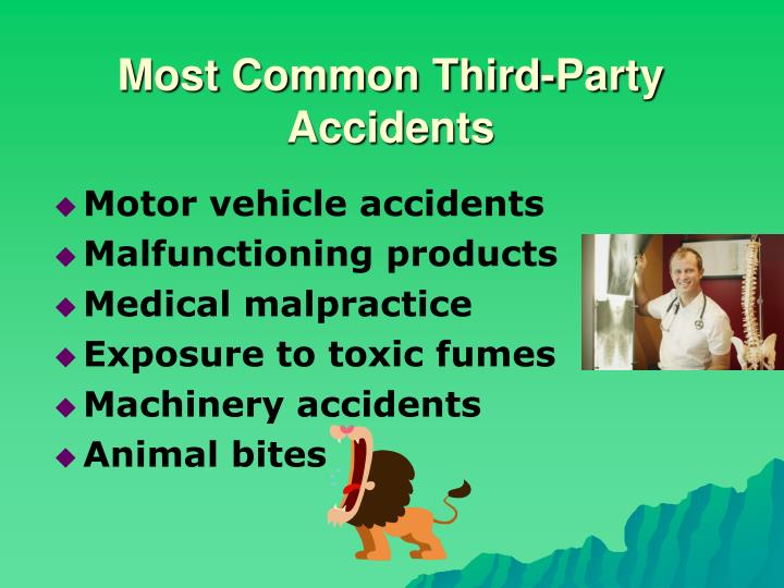 Most Common Third-Party Accidents
