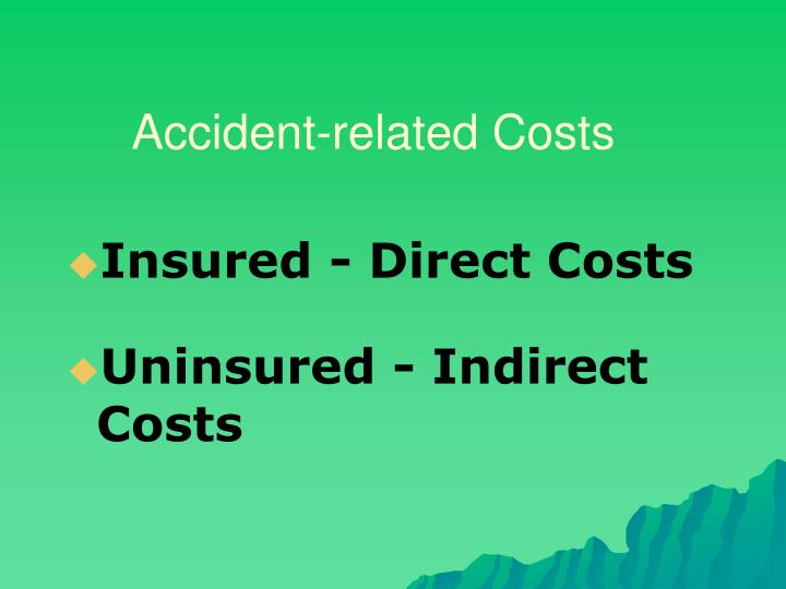 Accident-related Costs