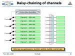 daisy chaining of channels