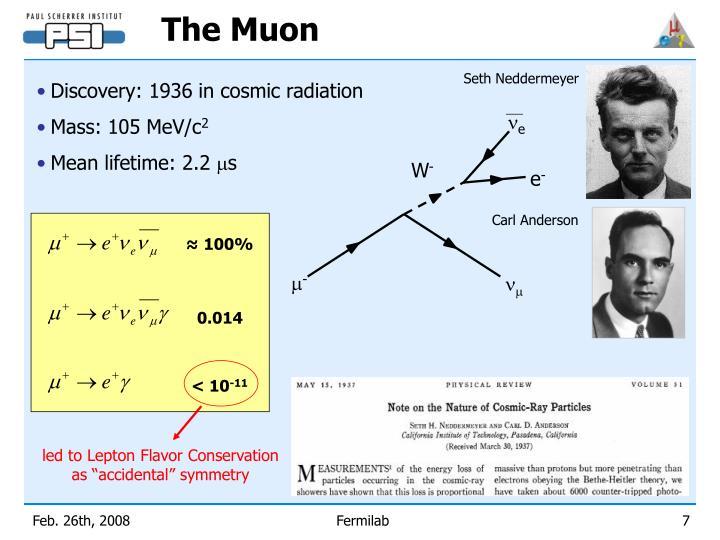 The Muon