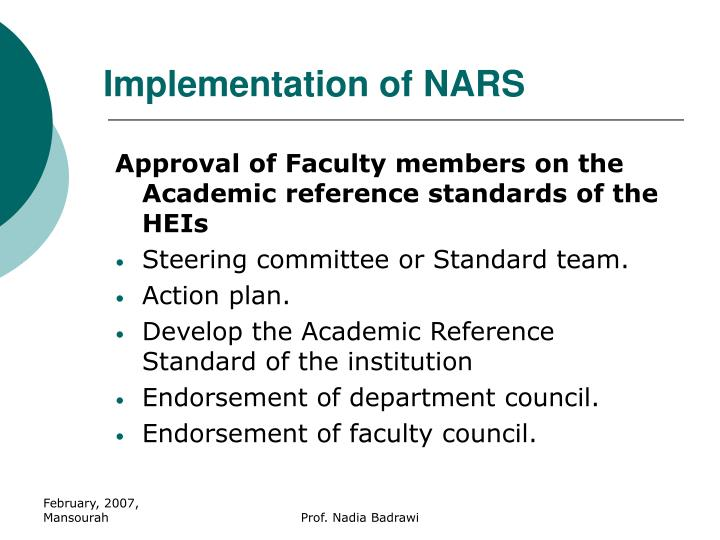 Implementation of NARS