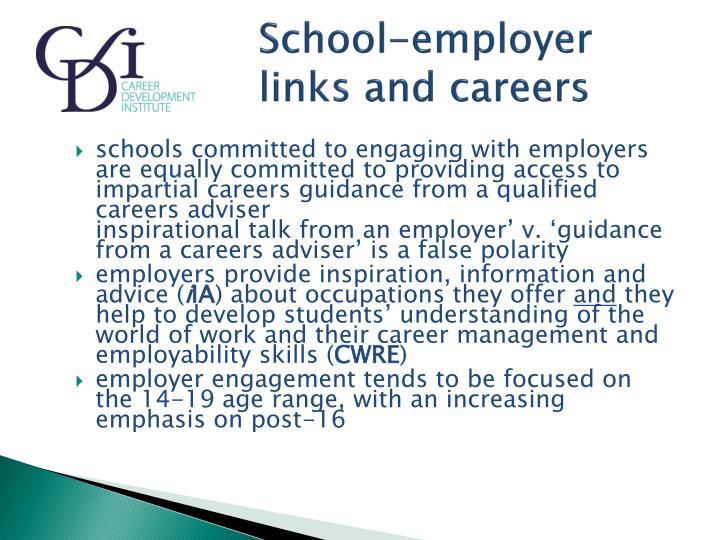 School-employer