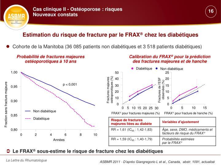Estimation du risque de fracture par le FRAX