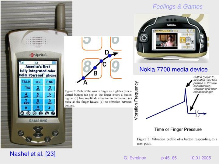 Nokia 7700 media device