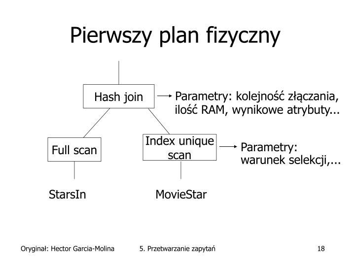 Pierwszy plan fizyczny