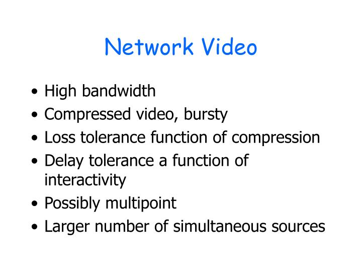 Network Video