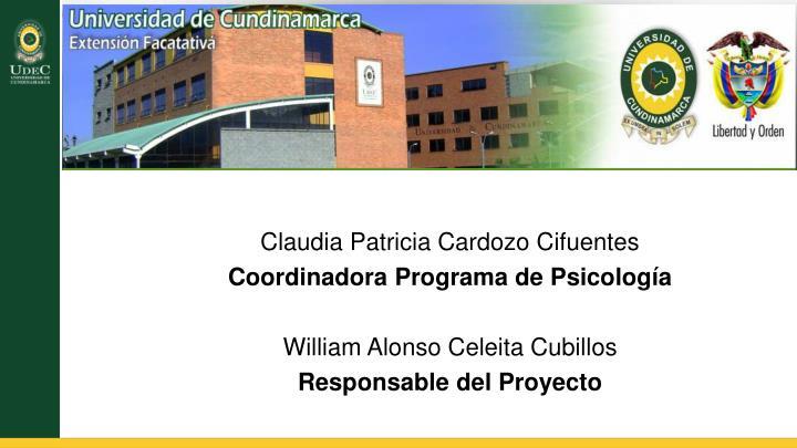 Claudia Patricia Cardozo Cifuentes