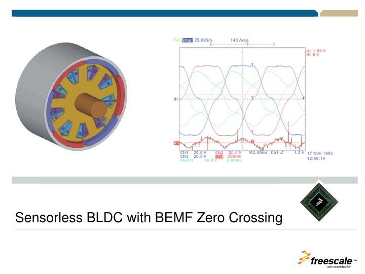 Sensorless BLDC with BEMF Zero Crossing