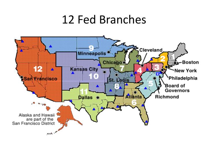 12 Fed Branches