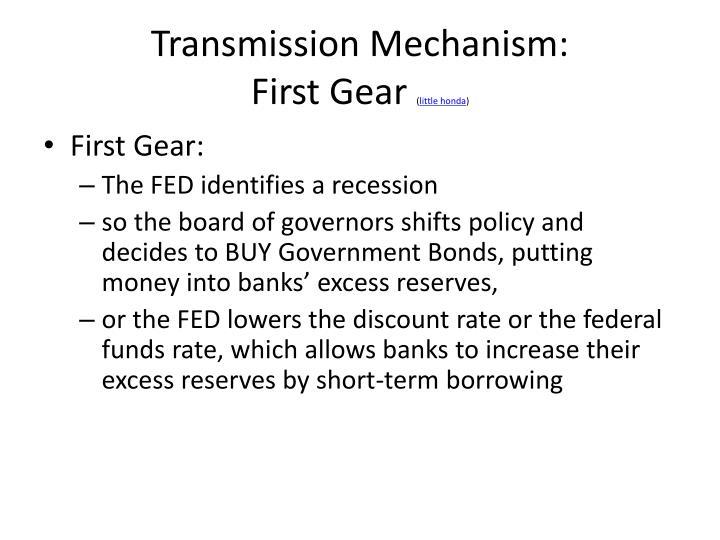 Transmission Mechanism: