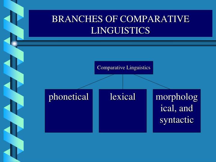 Comparative Linguistics