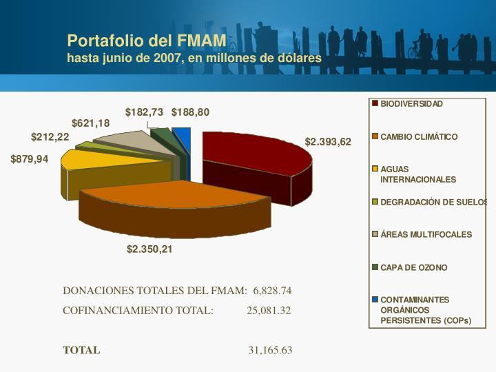 Portafolio del FMAM