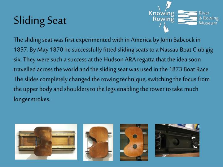 Sliding Seat