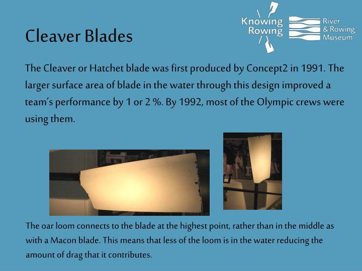Cleaver Blades