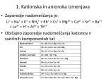 1 kationska in anionska izmenjava2