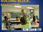 building block education