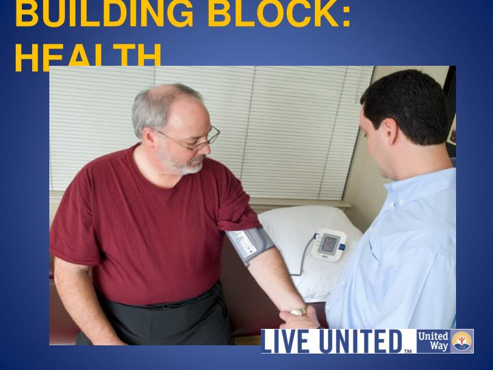 BUILDING BLOCK: HEALTH
