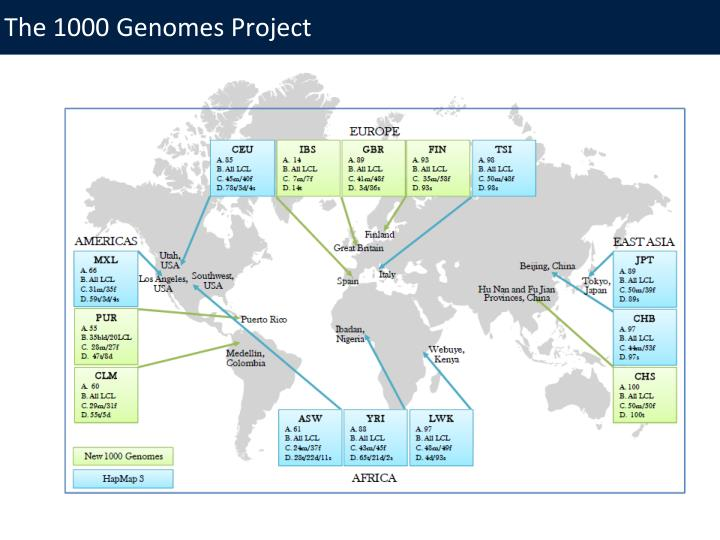 The 1000 Genomes Project