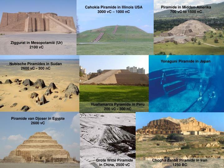 Cahokia Piramide in Illinois USA