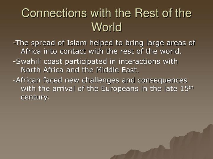 chapter 8 africa civilizations and the 200 global impact: trade networks 204 chapter ○8 1500 bc–ad 700  african civilizations 210 1 diverse societies in africa 213.