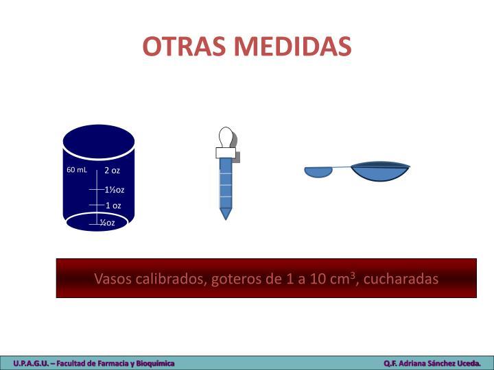 OTRAS MEDIDAS