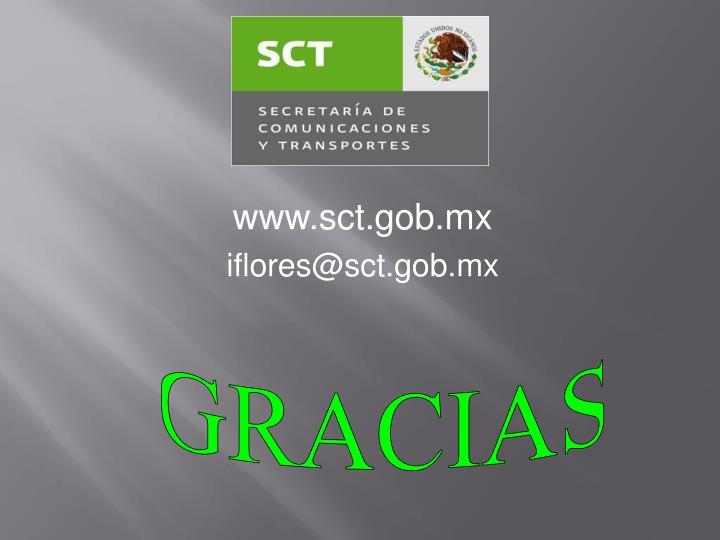 www.sct.gob.mx