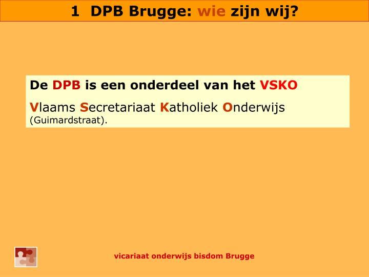 1  DPB Brugge: