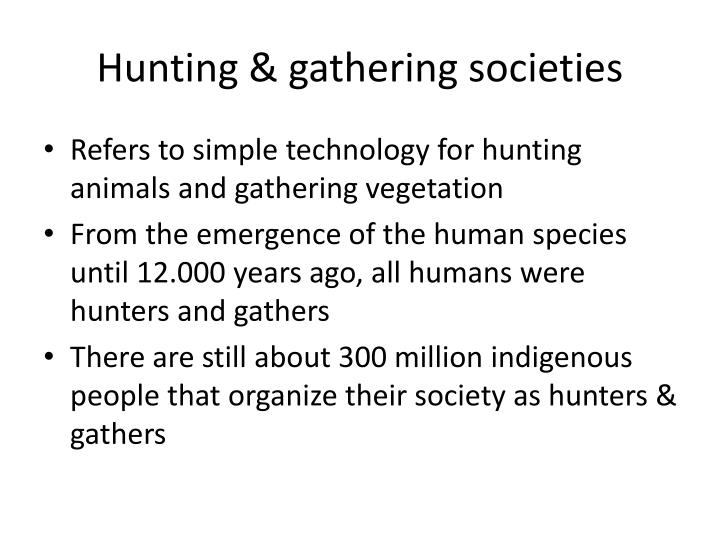 Hunting &