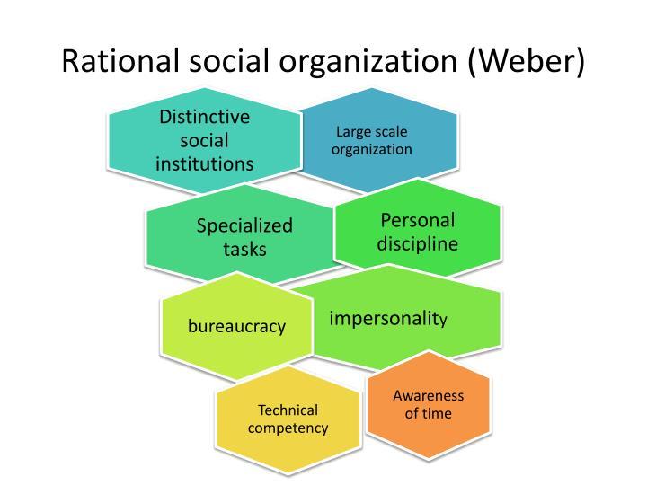 Rational social organization (Weber)