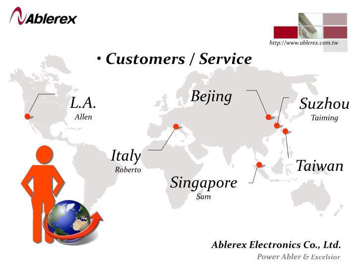 Customers / Service