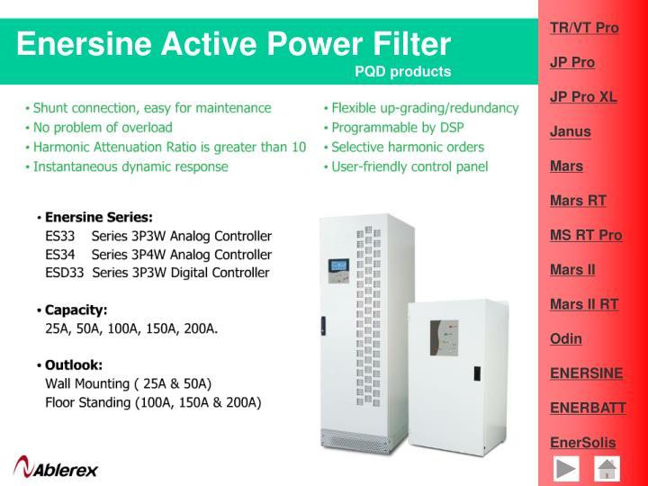 Enersine Active Power Filter