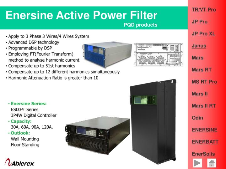 Enersine Active Power Filter