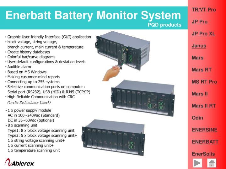 Enerbatt Battery Monitor System