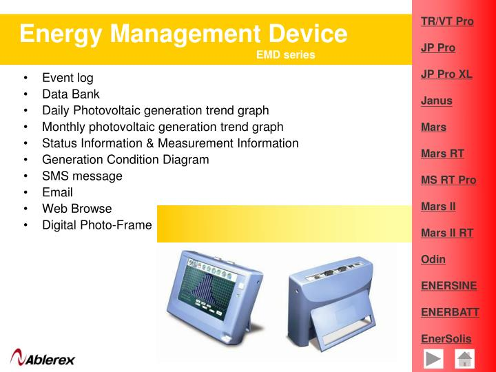 Energy Management Device
