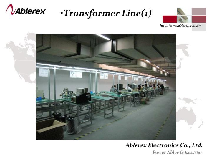 Transformer Line(1)