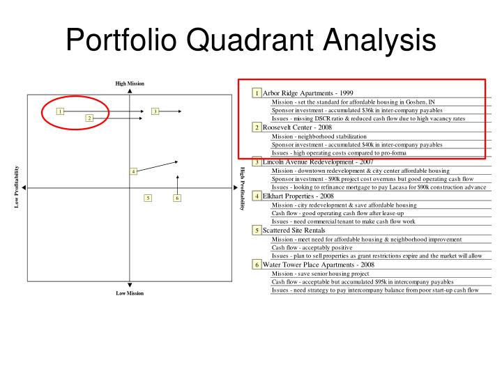 Portfolio Quadrant Analysis