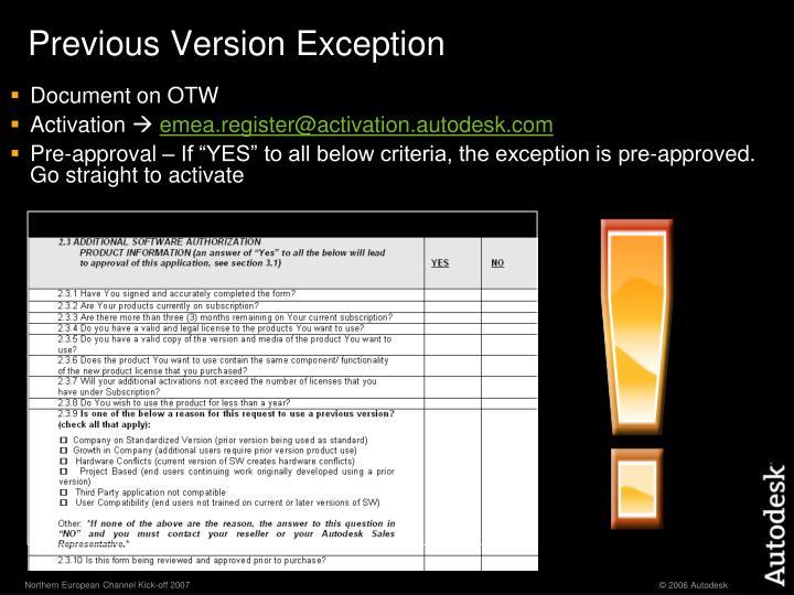 Document on OTW