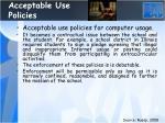 acceptable use policies