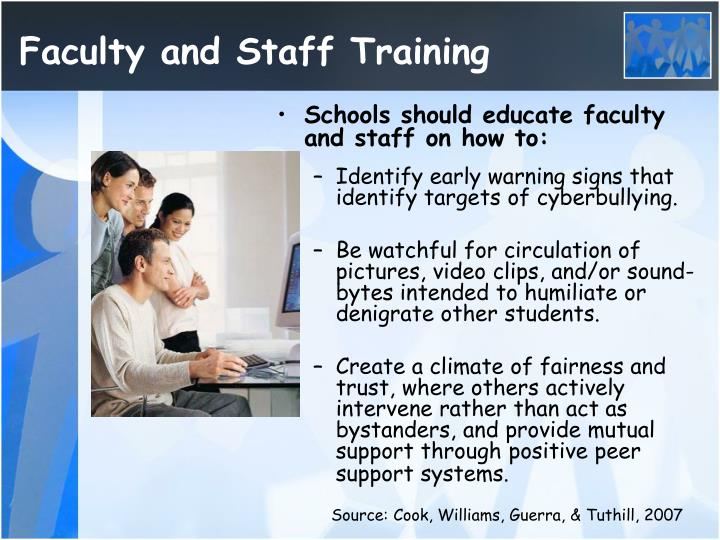 Faculty and Staff Training