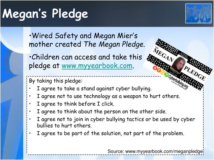 Megan's Pledge